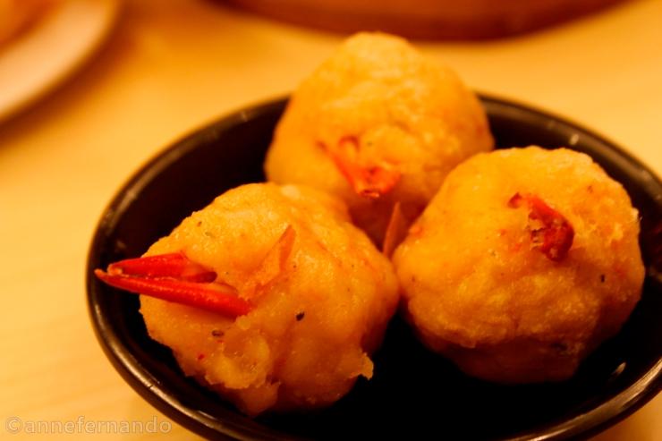 Crab balls (Php65)