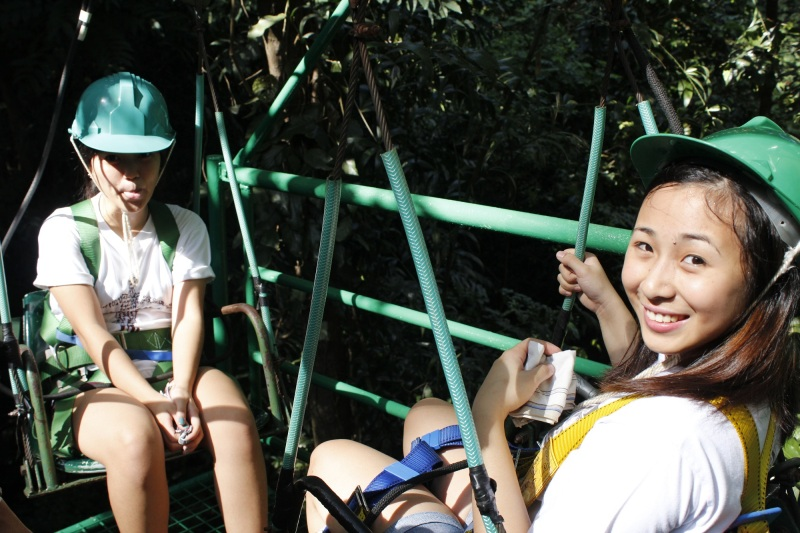Chippy and ate Kharm -- Canopy Ride