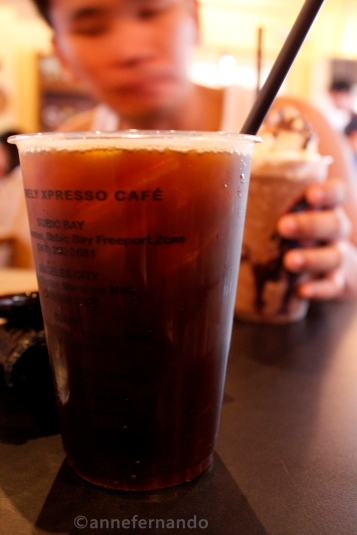 Iced Coffee, Tall (PhP80)