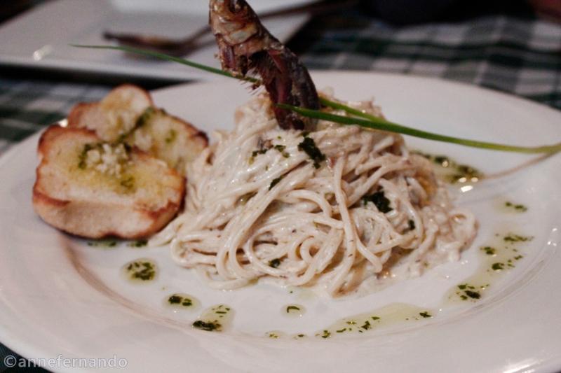 Creamy Garlic Tuyo Pasta (PhP175)