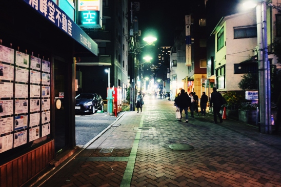 Back to one of Akasaka's alleys