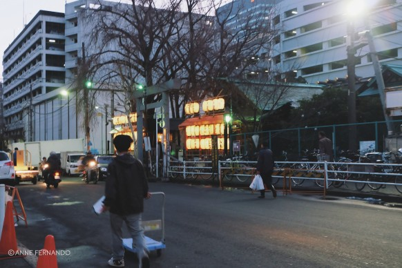 Shrine near Tsukiji Market