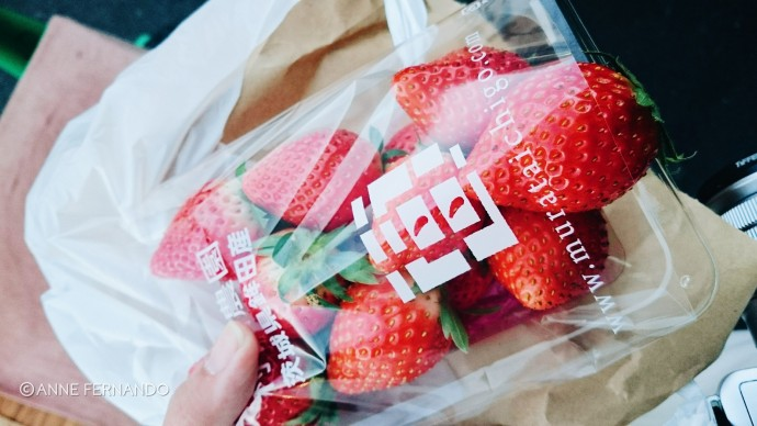 Big, sweet strawberries ❤
