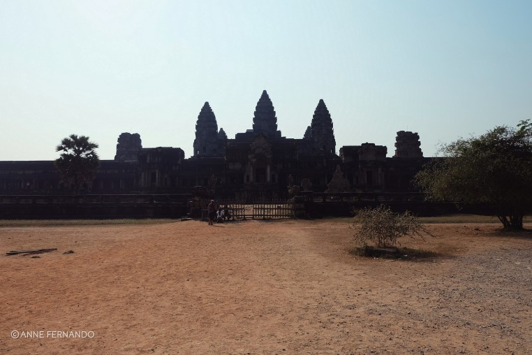 Angkor Wat - view from East Gate