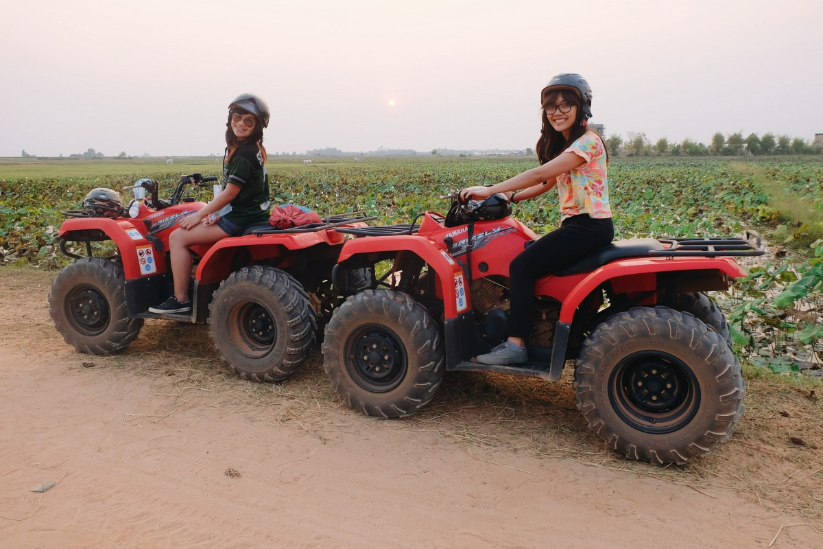 Siem Reap, Day 2: Food Trip, Shopping, and ATVRide