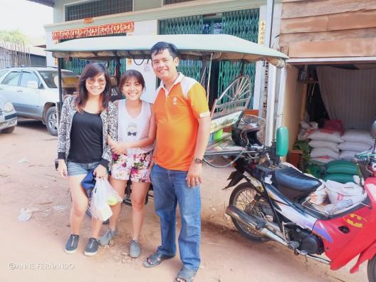 Mr. Kim, our tuktuk driver