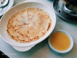 Roti with Condensed Milk