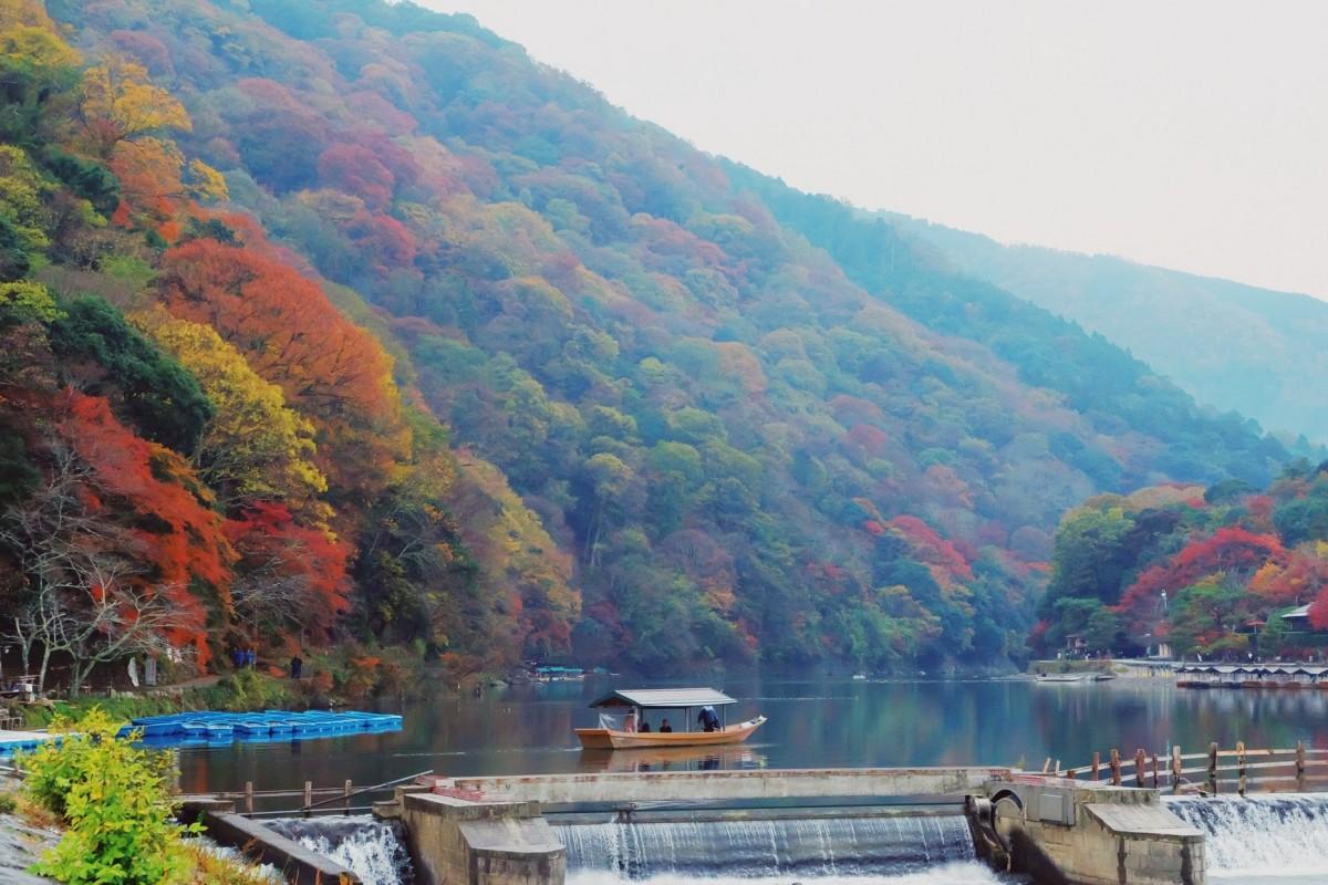 Japan, Day 2: Togetsukyo Bridge(revisit)