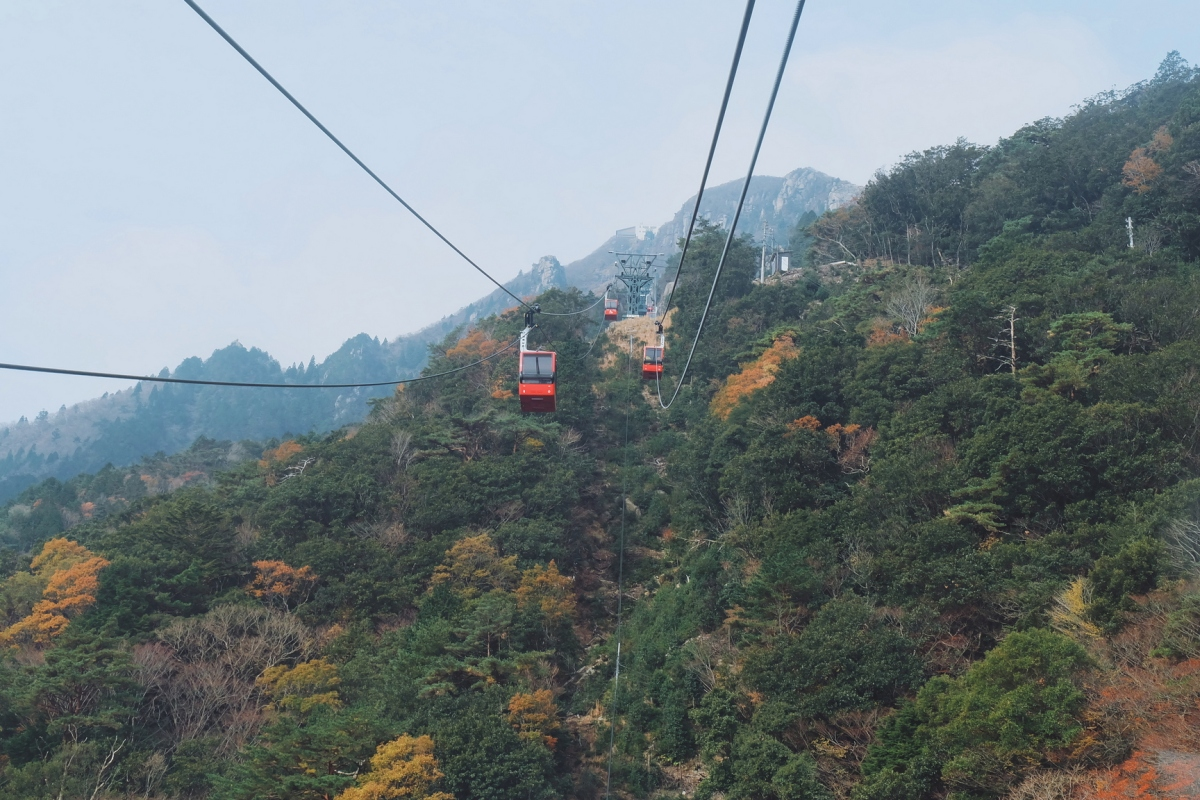 Japan, Day 6: GozaishoRopeway