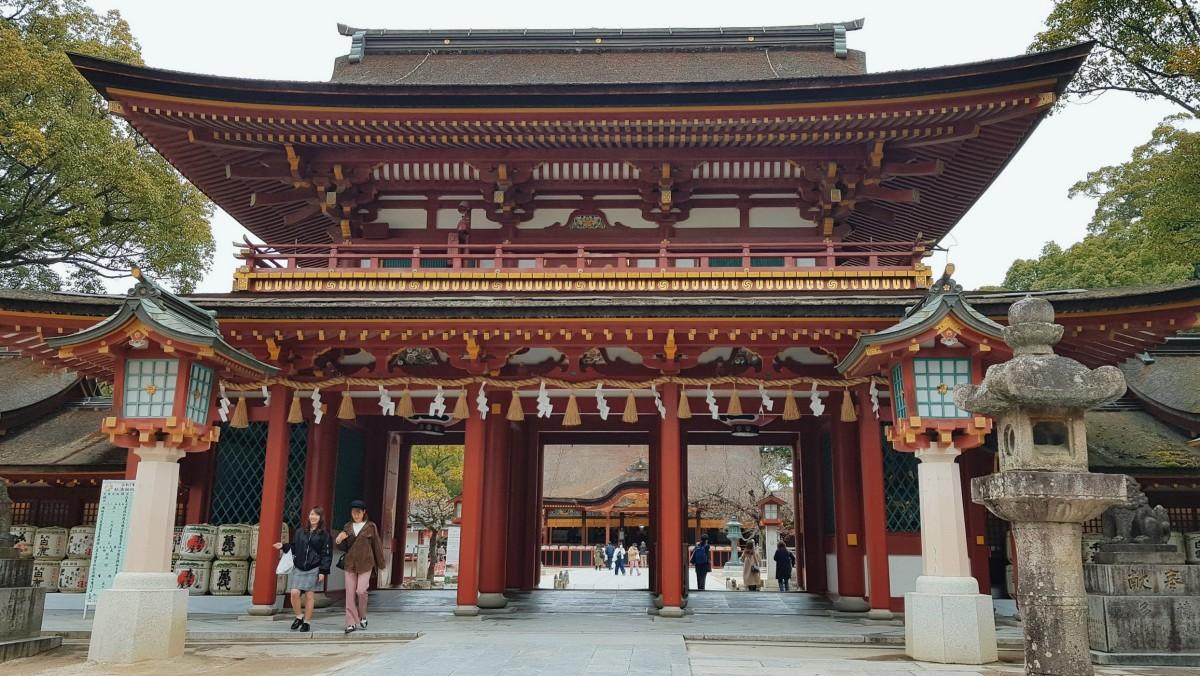 Kyushu, Day 10: DazaifuTenmangu