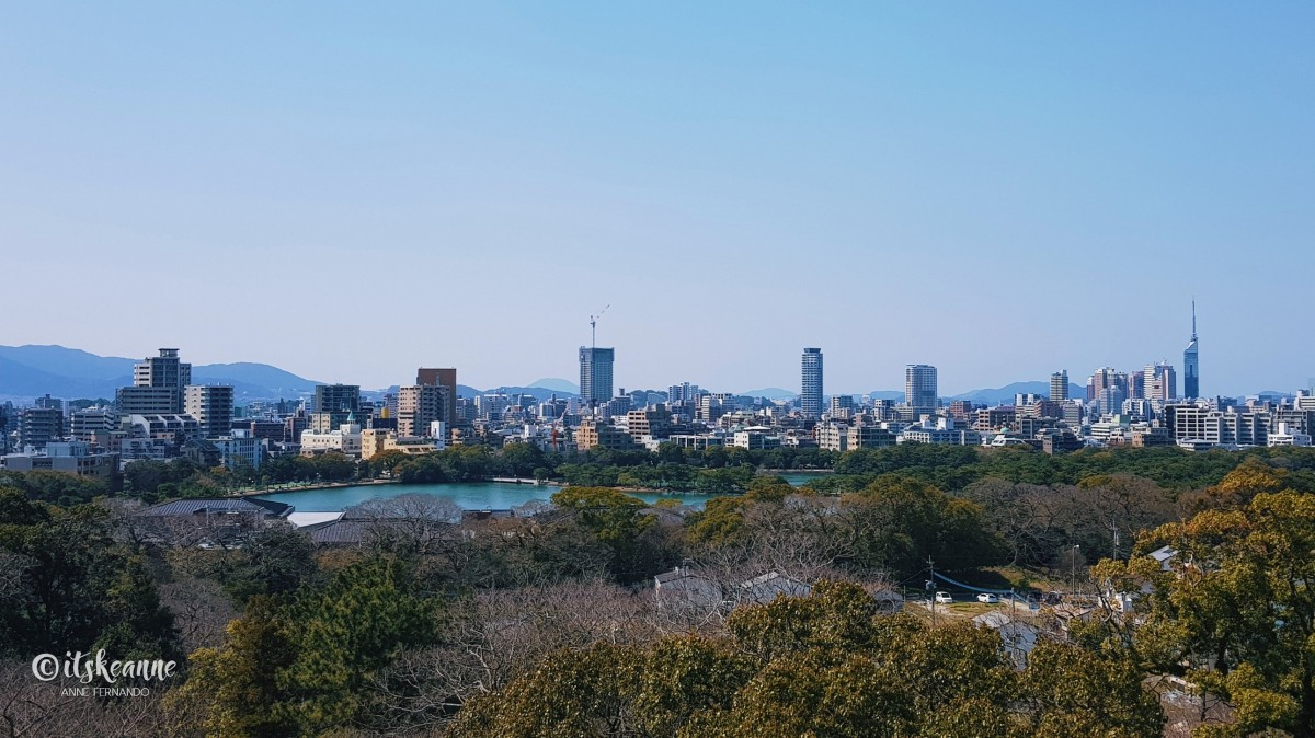 Kyushu, Day 14: Fukuoka CastleRuins